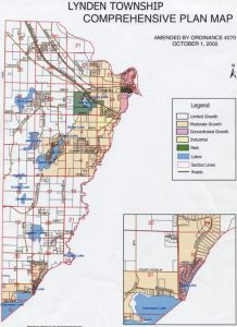 Lynden Township Comprehensive Plan Growth Map
